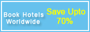 Book Hotels Worldwide -- Save Upto 70%